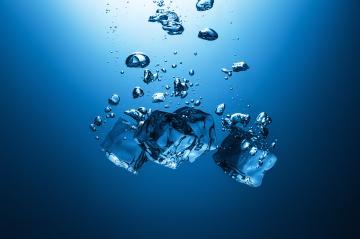 Ice cubes falling in water : Stock Photo or Stock Video Download rcfotostock photos, images and assets rcfotostock | RC-Photo-Stock.: