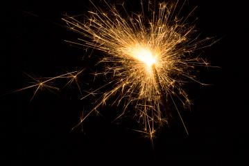 Ignited Sparkler- Stock Photo or Stock Video of rcfotostock | RC-Photo-Stock