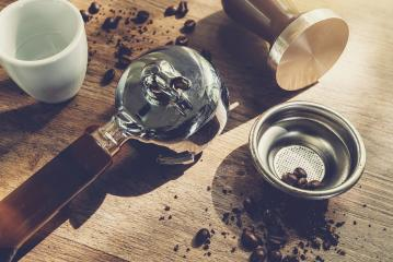 Individual parts of classic coffee maker arranged on wooden table : Stock Photo or Stock Video Download rcfotostock photos, images and assets rcfotostock | RC-Photo-Stock.:
