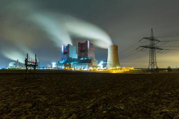 industrial coal power station at night : Stock Photo or Stock Video Download rcfotostock photos, images and assets rcfotostock | RC-Photo-Stock.:
