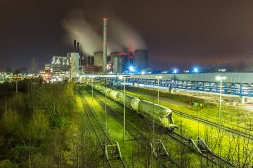 industrial coal power station neurath at night : Stock Photo or Stock Video Download rcfotostock photos, images and assets rcfotostock | RC-Photo-Stock.: