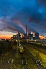 industrial Lignite Power Plant on sunset : Stock Photo or Stock Video Download rcfotostock photos, images and assets rcfotostock | RC-Photo-Stock.: