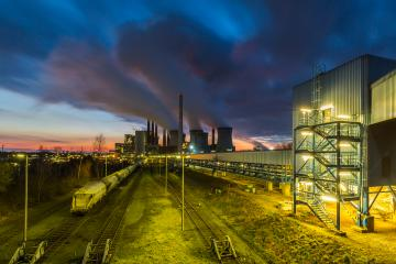industrial Power Plant on sunset : Stock Photo or Stock Video Download rcfotostock photos, images and assets rcfotostock | RC-Photo-Stock.: