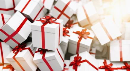 Infinite christmas gift boxes - Stock Photo or Stock Video of rcfotostock | RC-Photo-Stock