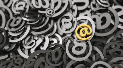 Infinite Email sign, marketingm, spam and newsletter concept image- Stock Photo or Stock Video of rcfotostock | RC-Photo-Stock