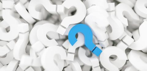 infinite question marks with a blue colored question sign, business and marketing concepts - Stock Photo or Stock Video of rcfotostock | RC-Photo-Stock