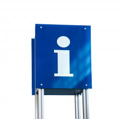 Information sign isolated on white background : Stock Photo or Stock Video Download rcfotostock photos, images and assets rcfotostock | RC-Photo-Stock.: