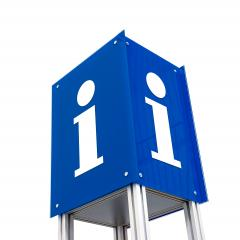 Information sign on white- Stock Photo or Stock Video of rcfotostock | RC-Photo-Stock