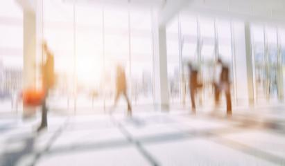 Intentionally blurred business people walking in a floor background- Stock Photo or Stock Video of rcfotostock | RC-Photo-Stock