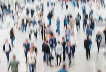Intentionally blurred crowd of people - Stock Photo or Stock Video of rcfotostock | RC-Photo-Stock