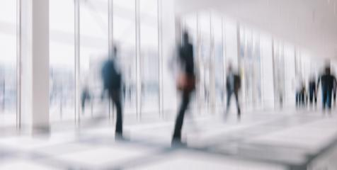 Intentionally blurred people in a modern environment background- Stock Photo or Stock Video of rcfotostock | RC-Photo-Stock