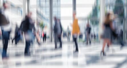 Intentionally blurred people walking modern floor- Stock Photo or Stock Video of rcfotostock | RC-Photo-Stock