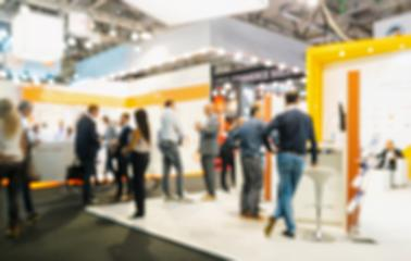 Intentionally blurred public event exhibition hall, business trade show concept : Stock Photo or Stock Video Download rcfotostock photos, images and assets rcfotostock | RC-Photo-Stock.: