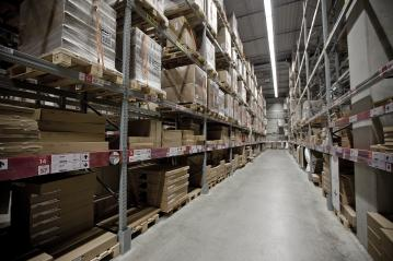 Interior of a modern warehouse- Stock Photo or Stock Video of rcfotostock | RC-Photo-Stock