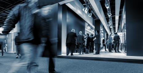 International Tradeshow stands- Stock Photo or Stock Video of rcfotostock | RC-Photo-Stock