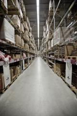 It is a warehouse of a large-scale shopping center- Stock Photo or Stock Video of rcfotostock | RC-Photo-Stock