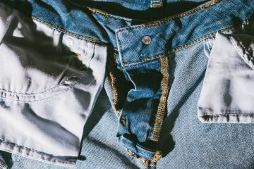 Jeans background, denim with seam of fashion design- Stock Photo or Stock Video of rcfotostock | RC-Photo-Stock