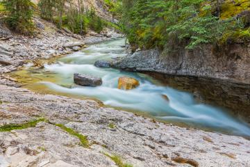 Johnston Canyon river at the banff national park : Stock Photo or Stock Video Download rcfotostock photos, images and assets rcfotostock | RC-Photo-Stock.:
