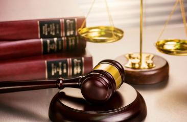 Judge gavel and scale in court with lot of books in background : Stock Photo or Stock Video Download rcfotostock photos, images and assets rcfotostock | RC-Photo-Stock.: