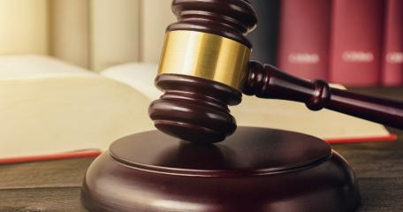 judge gavel on a open law book in a courtroom- Stock Photo or Stock Video of rcfotostock | RC-Photo-Stock