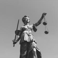Justitia (Lady Justice) sculpture- Stock Photo or Stock Video of rcfotostock | RC-Photo-Stock