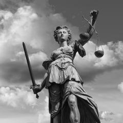 Lady Justice in Frankfurt- Stock Photo or Stock Video of rcfotostock | RC-Photo-Stock