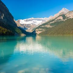 Lake Louise im Banff National park canada- Stock Photo or Stock Video of rcfotostock | RC-Photo-Stock