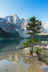 Lake Moraine at the morning banff canada- Stock Photo or Stock Video of rcfotostock | RC-Photo-Stock