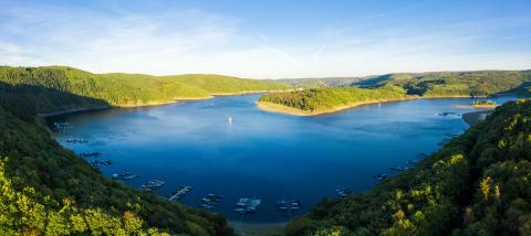 Lake Rursee, Eifel Germany- Stock Photo or Stock Video of rcfotostock | RC-Photo-Stock