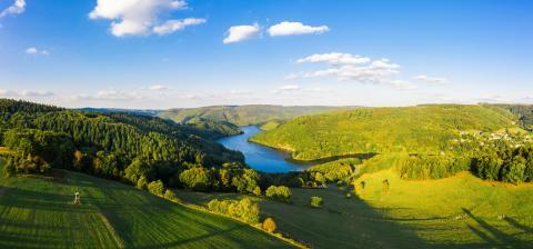 Lake Rursee, Eifel Germany- Stock Photo or Stock Video of rcfotostock | RC-Photo-Stock