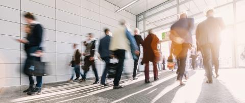 large crowd of anonymous blurred business people- Stock Photo or Stock Video of rcfotostock | RC-Photo-Stock