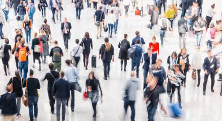 large crowd of anonymous blurred business people - Stock Photo or Stock Video of rcfotostock | RC-Photo-Stock