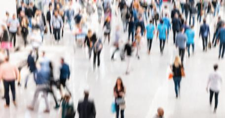 large crowd of blurred business people- Stock Photo or Stock Video of rcfotostock | RC-Photo-Stock