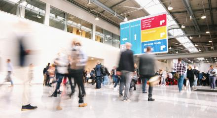 large crowd of blurred people at a trade fair : Stock Photo or Stock Video Download rcfotostock photos, images and assets rcfotostock | RC-Photo-Stock.: