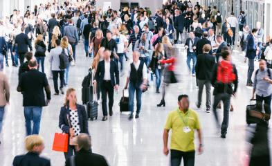 Large crowd of business people walking- Stock Photo or Stock Video of rcfotostock | RC-Photo-Stock