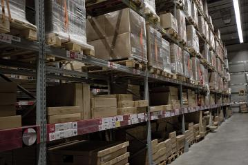 Large Inventory. Warehouse Goods Stock for Logistic shipping banner background.- Stock Photo or Stock Video of rcfotostock | RC-Photo-Stock