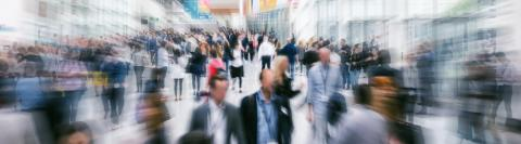 Large trade show crowd- Stock Photo or Stock Video of rcfotostock | RC-Photo-Stock