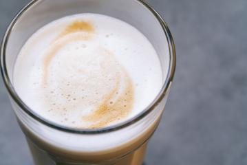 latte macchiato coffee in a glass- Stock Photo or Stock Video of rcfotostock | RC-Photo-Stock