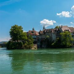 Laufenburg at the river rhine, germany- Stock Photo or Stock Video of rcfotostock | RC-Photo-Stock