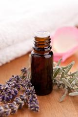 lavendel and parfum bottle with towel : Stock Photo or Stock Video Download rcfotostock photos, images and assets rcfotostock | RC-Photo-Stock.: