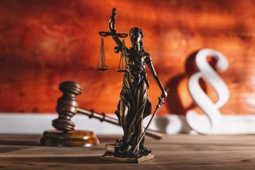 Law and Justice, Legality concept, Lady Justice, paragraph sign and Judge Gavel on a wooden background, Law library concept.  : Stock Photo or Stock Video Download rcfotostock photos, images and assets rcfotostock | RC-Photo-Stock.: