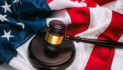 law gavel and USA america flag- Stock Photo or Stock Video of rcfotostock | RC-Photo-Stock