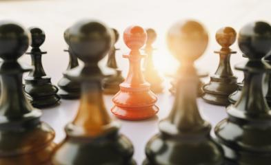 Leadership team and business group concept as an organized company of chess pawn pieces joining working together united and as one in agreement to cast- Stock Photo or Stock Video of rcfotostock | RC-Photo-Stock