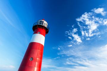 lighthouse against blue sky- Stock Photo or Stock Video of rcfotostock | RC-Photo-Stock