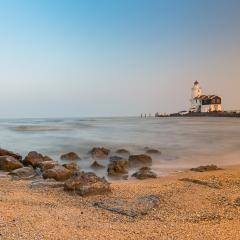 Lighthouse at the beach - Stock Photo or Stock Video of rcfotostock | RC-Photo-Stock