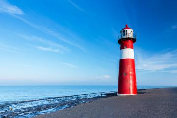 lighthouse at westkapelle in the Netherlands- Stock Photo or Stock Video of rcfotostock | RC-Photo-Stock