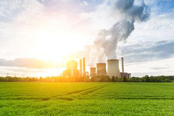 lignite power plant with bright sunlight and cloudy sky : Stock Photo or Stock Video Download rcfotostock photos, images and assets rcfotostock | RC-Photo-Stock.: