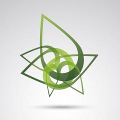 Logos of green leafs in abstract forms ecology nature element vector icon, Corporate design. Vector illustration. Eps 10 vector file.- Stock Photo or Stock Video of rcfotostock | RC-Photo-Stock