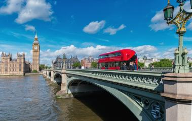 London. Beautiful view of Westminster Bridge and Houses of Parliament with Thames river.- Stock Photo or Stock Video of rcfotostock | RC-Photo-Stock