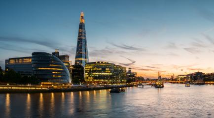 London city hall at sunset, london, uk- Stock Photo or Stock Video of rcfotostock | RC-Photo-Stock